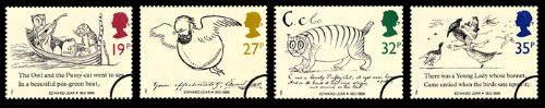 Edward Lear: Stamps