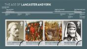 The Houses of Lancaster & York: Miniature Sheet