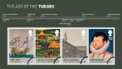 The Tudors: Miniature Sheet