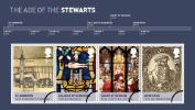 The Stewarts: Miniature Sheet