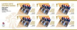 Cycling - Track - Men's Team Sprint: Olympic Gold Medal 5: Miniature Sheet