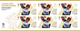Cycling - Track - Women's Keirin: Olympic Gold Medal 8: Miniature Sheet
