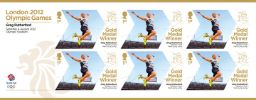 Athletics - Men's Long Jump: Olympic Gold Medal 13: Miniature Sheet