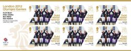 Equestrian - Jumping Team: Olympic Gold Medal 17: Miniature Sheet