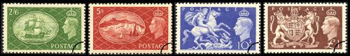 KGVI: Set of 4 Festival High Values