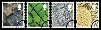 Northern Ireland (white borders) 2nd, 1st, E, 68p