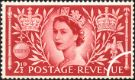 Elizabeth II Coronation: 2 1/2d