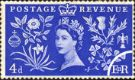 Elizabeth II Coronation: 4d