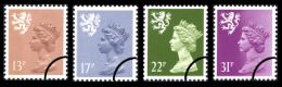 Click to view all covers for Scotland 13p, 17p, 22p, 31p