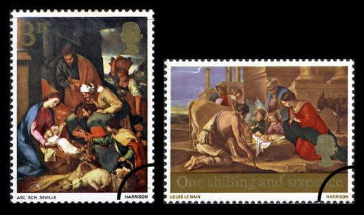 Christmas 1967 (3d & 1/6d) Stamp(s)