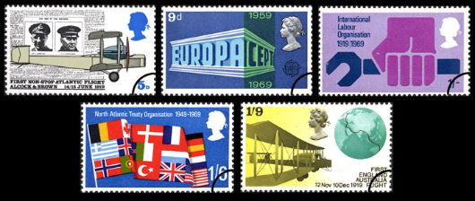 Notable Anniversaries Stamp(s)