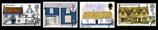 British Rural Architecture Stamp(s)