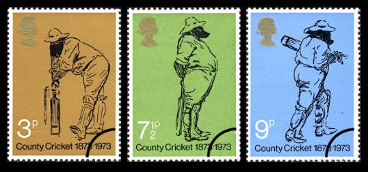 County Cricket Centenary Stamp(s)