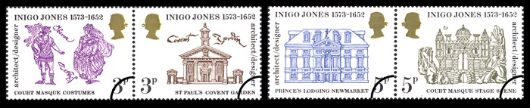 Inigo Jones Stamp(s)