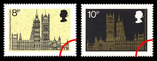 Parliament 1973 Stamp(s)