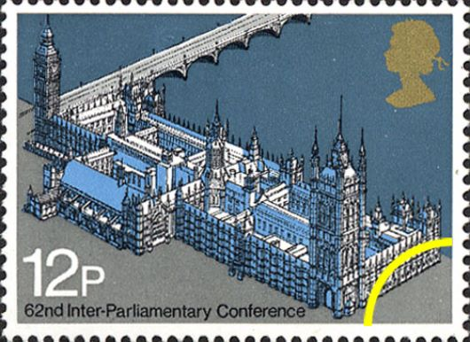 Parliament 1975: 12p Stamp(s)
