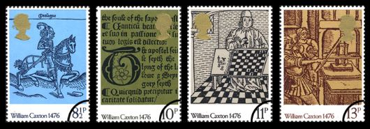 William Caxton Stamp(s)
