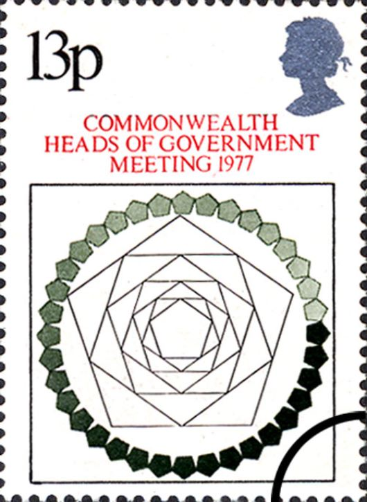Heads of Government: 13p Stamp(s)