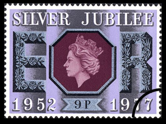 Silver Jubilee:  9p Stamp(s)
