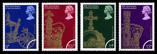 Coronation 25th Anniversary Stamp(s)