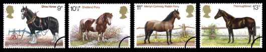 Shire Horse Society Stamp(s)