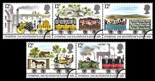 Liverpool & Manchester Rly Stamp(s)