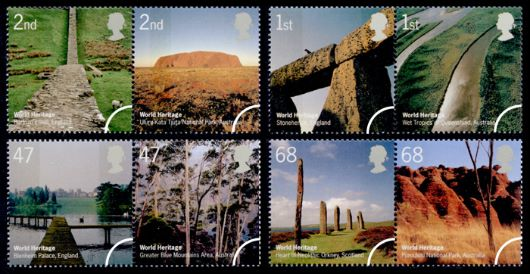 World Heritage Sites Stamp(s)