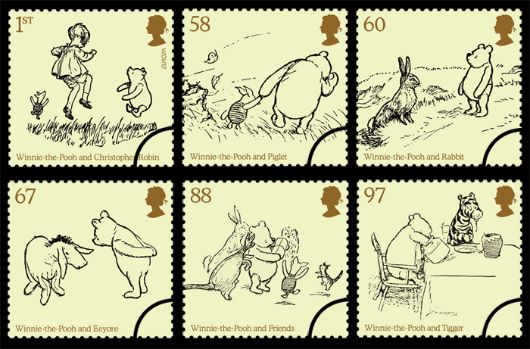 Winnie-the-Pooh Stamp(s)