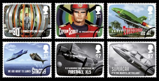 Gerry Anderson Stamp(s)