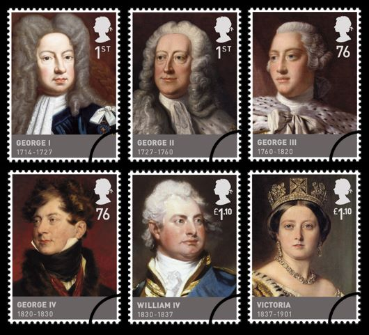 The Hanoverians Stamp(s)