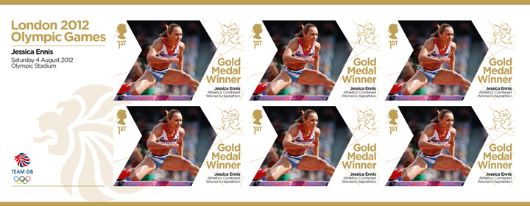 Athletics - Woman's Heptathlon: Olympic Gold Medal 12: Miniature Sheet