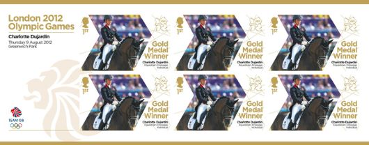 Equestrian - Individual Dressage: Olympic Gold Medal 23: Miniature Sheet
