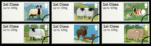 Farm Animals: Series No.1, Sheep Stamp(s)