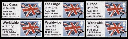 Perth NPE Union Flag Stamp(s)