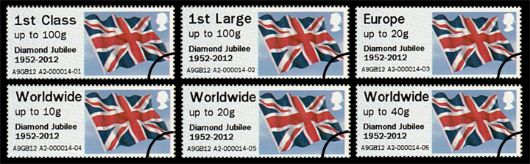 Diamond Jubilee Union Flag Stamp(s)