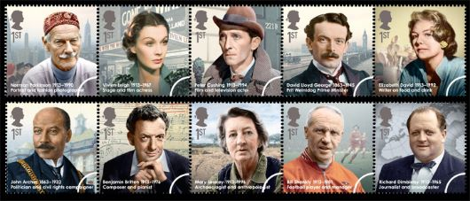 Great Britons Stamp(s)