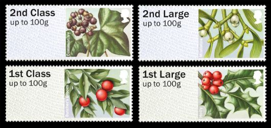 British Flora: Series No.3, Winter Greenery Stamp(s)