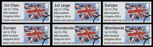 85th Scottish Congress Flag Stamp(s)