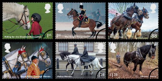 Working Horses Stamp(s)