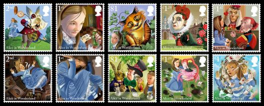 Alice in Wonderland Stamp(s)