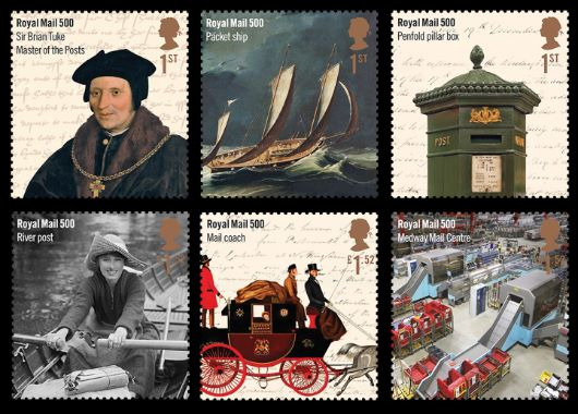 Royal Mail 500 Stamp(s)