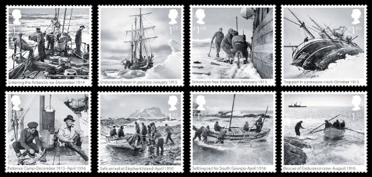 Shackleton and the Endurance Expedition Stamp(s)
