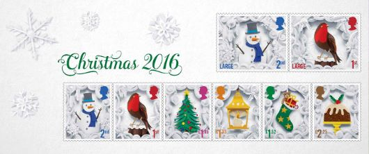Christmas 2016: Miniature Sheet