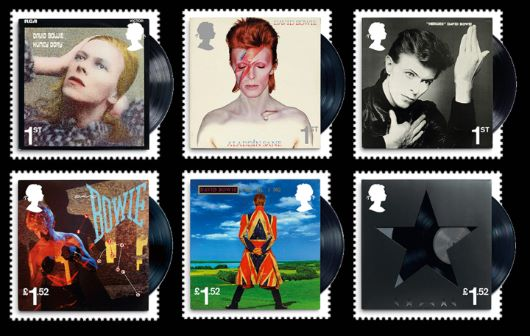 David Bowie Stamp(s)