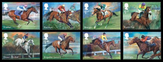 Racehorse Legends Stamp(s)