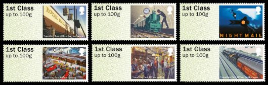 Travelling Post Office Stamp(s)
