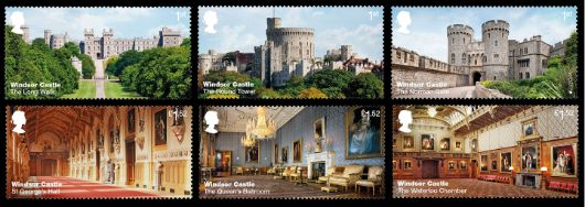 Windsor Castle Stamp(s)