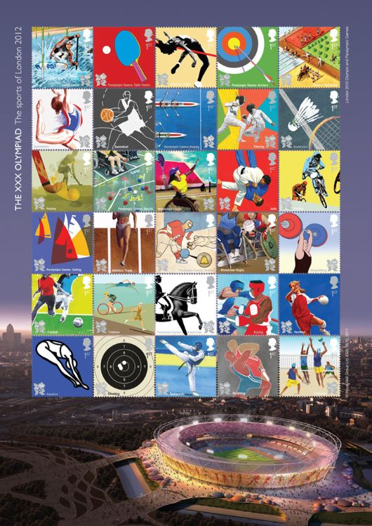 Olympic Games [Composite Sheet]