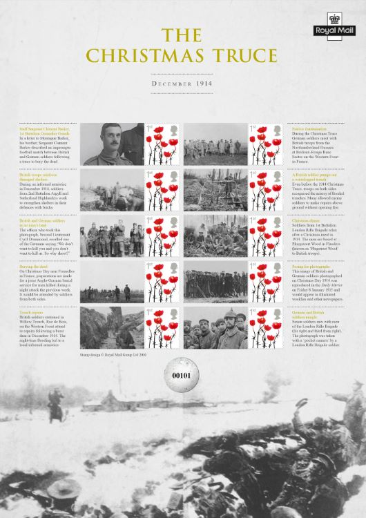 The Christmas Truce [Commemorative Sheet]