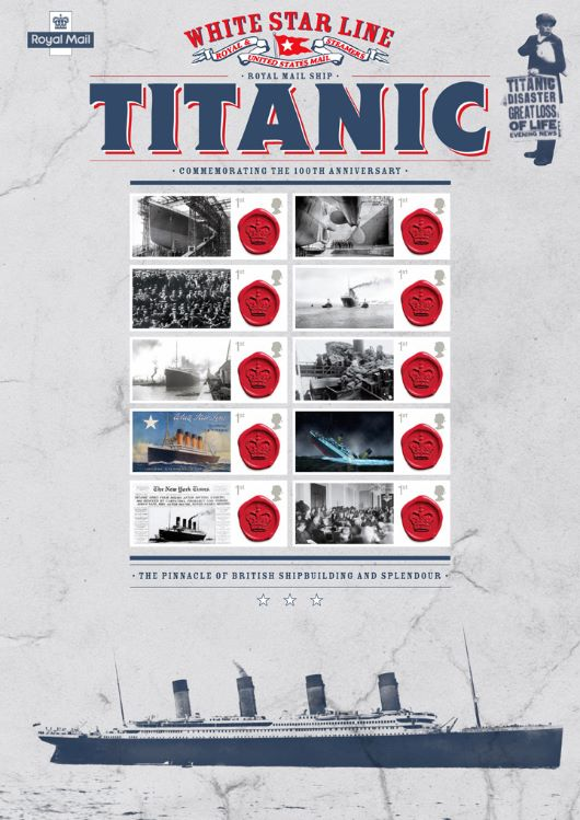 Titanic [Commemorative Sheet]